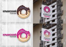 """Разработка логотипа """"Крымский пончик"""""""