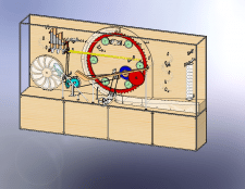 Механическая игровая витрина