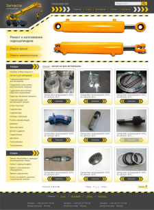 сайт-каталог запчастей для автокранов