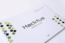 """Разработка фирменного стиля """"Hacktus"""""""