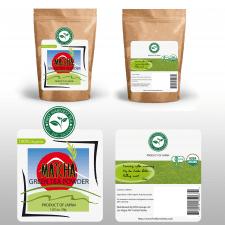 Дизвйн упаковки чая Matcha