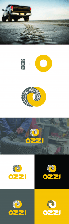 Logo for tire fitting