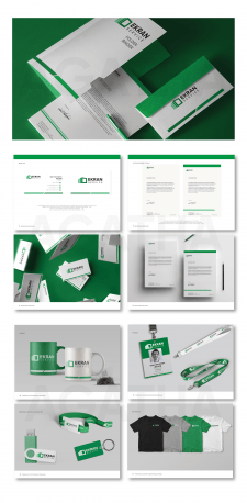 Разработка лого, фирменного стиля