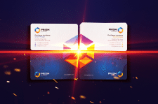 Indigo - Prism Business Card
