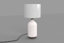 Lampe a poser TERRA Blanc