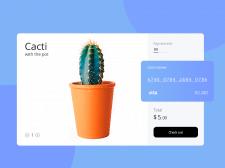 Дизайн экрана платежной системы