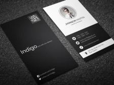 Дизайн персональной визитной карточки