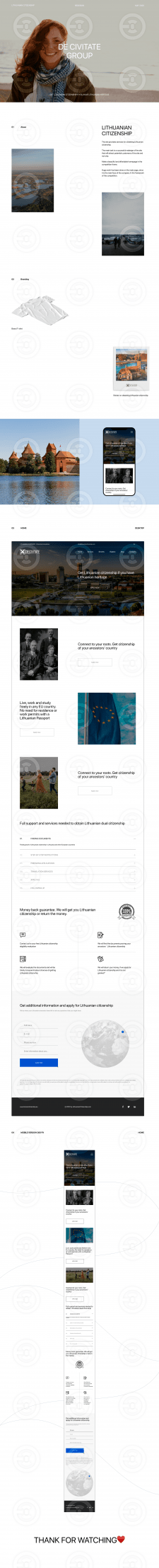 De Civitate Group ӏ Сайт + Адаптивв