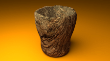 Деревянный стакан