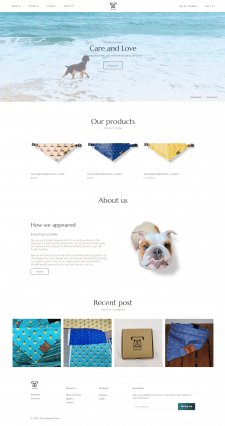 Shopify магазин для США
