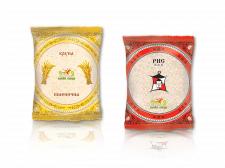 Крупа (пшеничная) + Рис