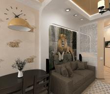 Дизайн проект квартиры (Киев, Ломоносова 48А)