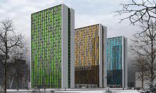 Жилой комплекс с дифференцированными квартирами в.