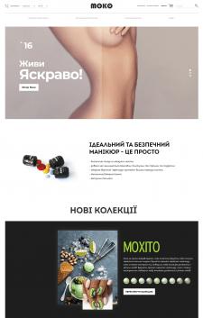 Лендинг для интернет-магазина moko.ua