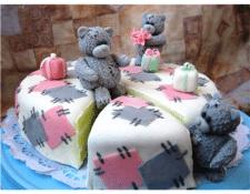 Торт с мишкой – любимый сказочный десерт