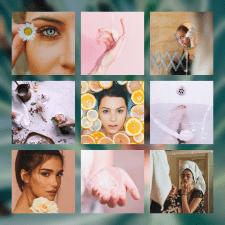 Подбор визуала и цветокор для ленты в Instagram