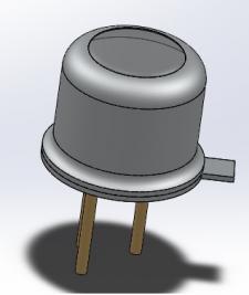3D модель радиокомпонента