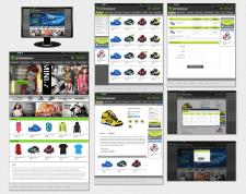 Дизайн интернет магазина одежды