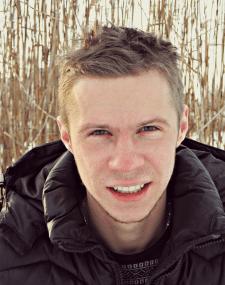 Портрет с ретушью и эффектом боке