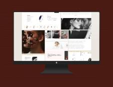 Разработка брендовой концепции дизайна сайта