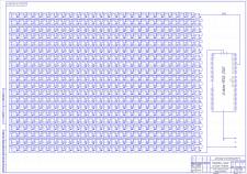 Принципиальная схема светового стенда на Arduino