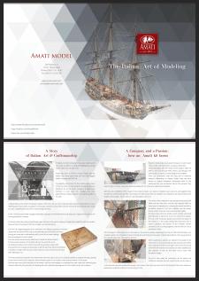 Дизайн брошюры для компании Amati
