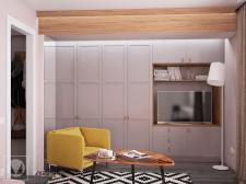 Квартира в ретро-стиле