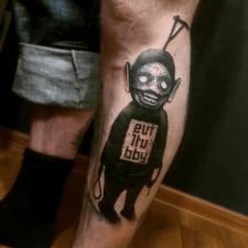 тату телепузик tattoo teletubby eviltubby