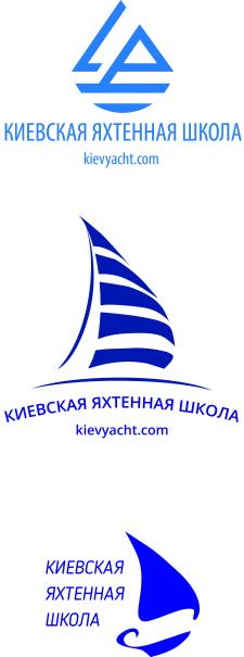 Логотип для яхтенной школы