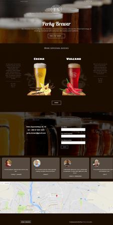 Лендинг для продажи крафтового пива