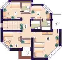 план с мебелью
