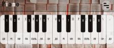 Piano web app
