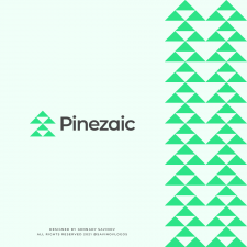 Geometric Pine Logo