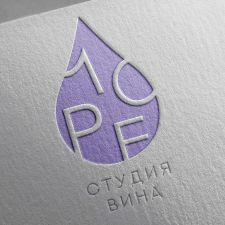 Логотип студии вина Море