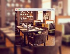 Флеш-сайт хабаровского ресторана «Луга»