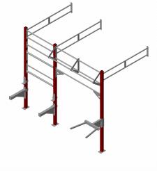 Модульная система для спортзалов