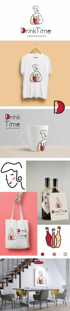 логотип для онлайн магазина алкогольных напитков