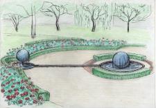 Эскиз фонтана