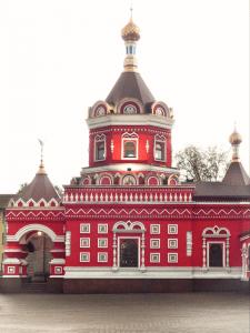 Обработка фотографии церкви