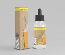Дизайн коробки и этикетки жидкости для Vape