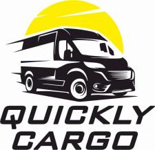 """Логотип службы доставки """"Quickly Cargo"""""""