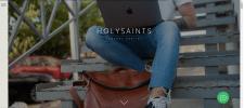 Создание сайта на Tilda для бренда Holysaints