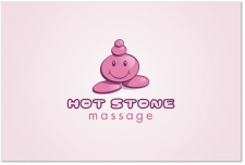 "Логотип для компании ""Hot stone"""