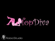 "Логотип - ""TopDiva"""
