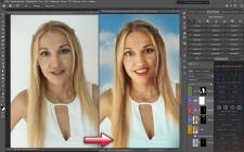 Быстрая обработка портрета