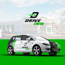 Логотип для сто - Drive Inn