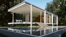 Farnsworth house 3ds Max