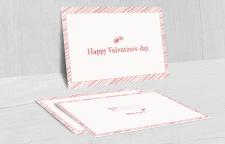 Открытка ко Дню Валентина