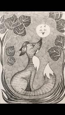 Ілюстрація до казки «Колобок»