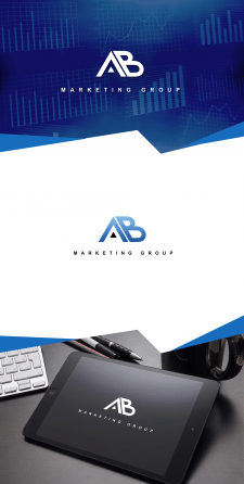 Логотип AB marketing group